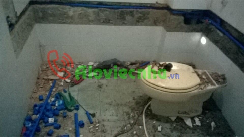 Dịch vụ chống thấm toilet chuyên nghiệp, giá rẻ