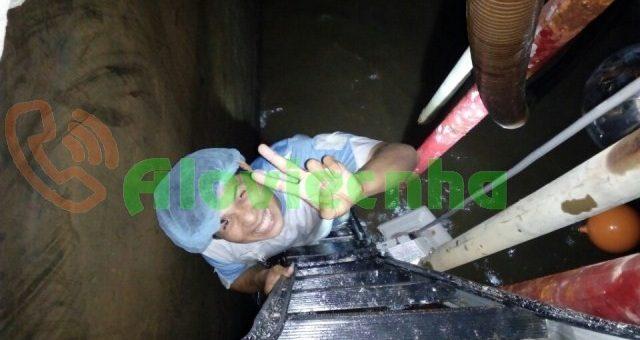 Thợ vệ sinh bể nước ngầm tại khu vực quận 11