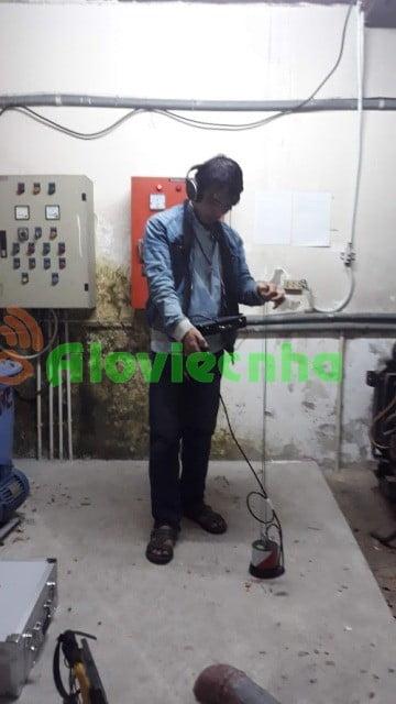Dịch vụ dò tìm đường ống nước bị rò rỉ tại KCN