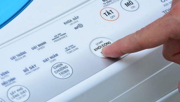 Nguyên nhân và cách khắc phục tình trạng máy giặt liệt phím