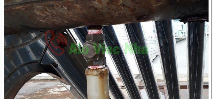 Dịch vụ sửa máy nước nóng năng lượng mặt trời