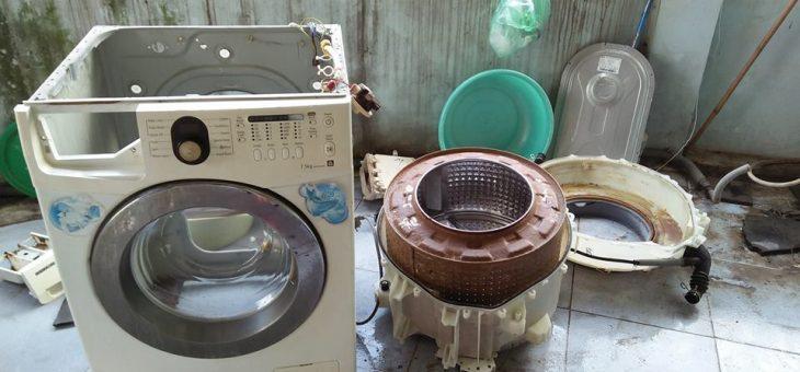 Máy giặt không lên nguồn