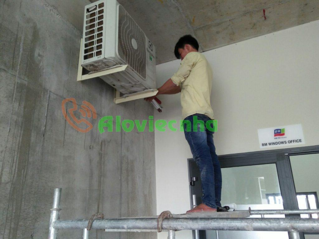 Dịch vụ lắp đặt máy lạnh uy tín tại HCM
