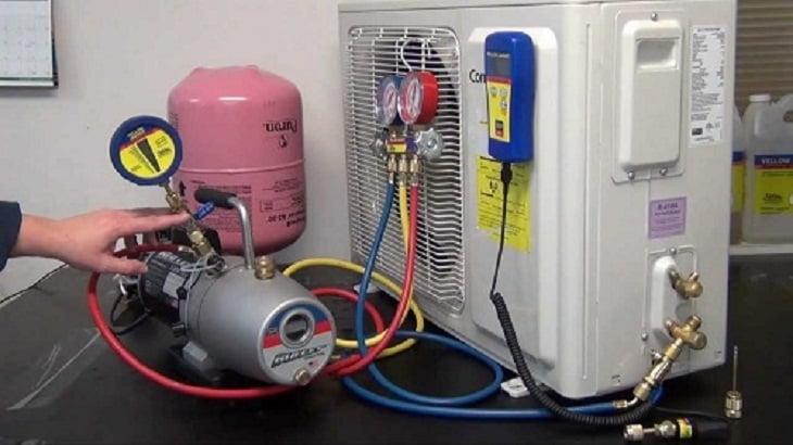 Dịch vụ bơm gas máy lanh uy tín tại TPHCM