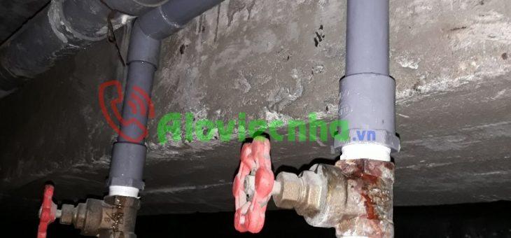 Cách thi công đường ống nước trong nhà