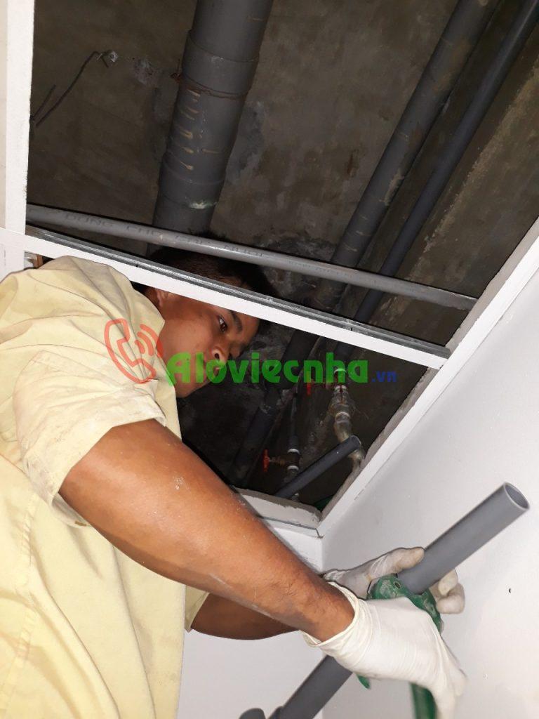 Thợ lắp đường ống nước tại nhà tại TPHCM