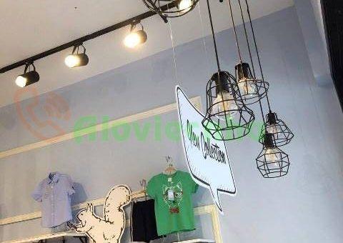 Lắp đèn led thả trần, chiếu rọi cho shop thời trang tại Thủ Đức