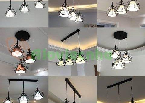 Lắp đèn led thả trần thạch cao tại quận 12