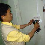 Lắp đường dây điện nổi trong nhà