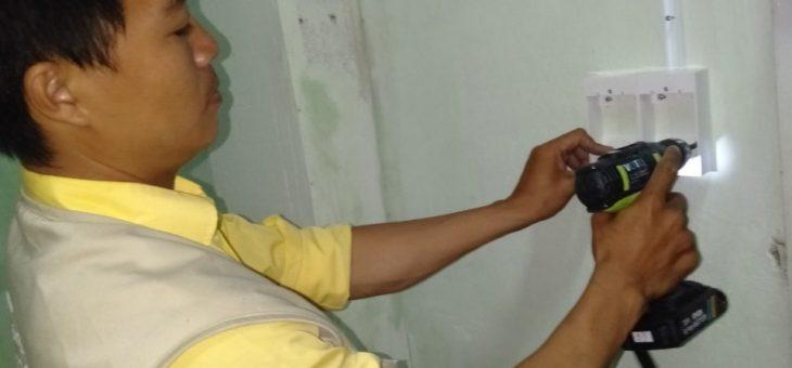 Lắp đặt đường dây điện nổi trong nhà tại HCM