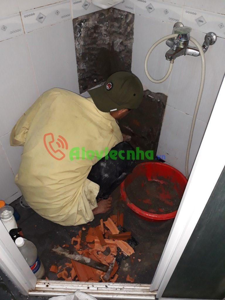 Dịch vụ sửa nhà vệ sinh giá rẻ tại HCM