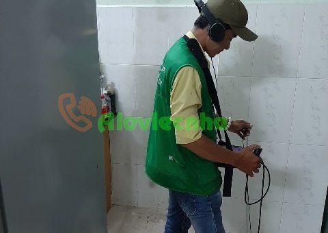 Dò tìm rò rỉ nước tại Biên Hòa – Đồng Nai
