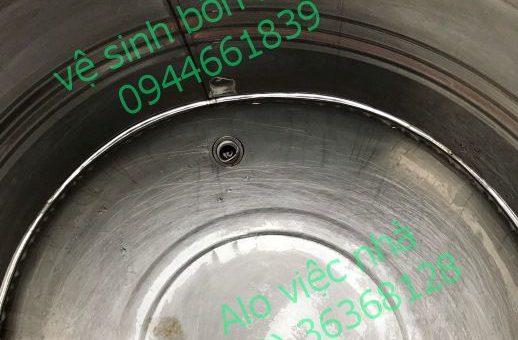 Vệ sinh bồn nước tại quận 1
