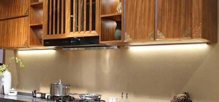 Dịch vụ lắp đặt đèn led tủ bếp tại TP.HCM